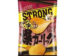 コイケヤ ポテトチップスSTRONG 爆ガーリック 袋90g