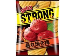 コイケヤ ポテトチップスSTRONG 暴れ焼き梅 袋54g