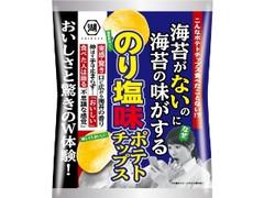 コイケヤ 海苔がないのに海苔の味がするのり塩味ポテトチップス 袋68g