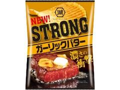 コイケヤ STRONG ポテトチップス ガーリックバター 袋56g