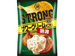 コイケヤ KOIKEYA STRONG ポテトチップス 特濃サワークリームオニオン