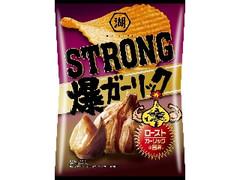コイケヤ KOIKEYA STRONG ポテトチップス 爆ガーリック 袋85g