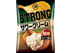 コイケヤ KOIKEYA STRONG ポテトチップス 特濃サワークリームオニオン 袋85g