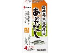 ヤマキ 薩摩産鰹節と道南産昆布あわせだし 箱4g×10