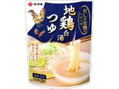 ヤマキ だしが自慢のつけつゆ 地鶏白湯つゆ 袋40g×2