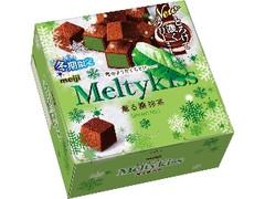 明治 メルティーキッス 薫る濃抹茶 箱56g