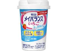 明治 メイバランス Miniカップ いちごヨーグルト味 カップ125ml