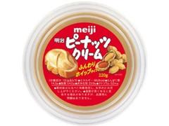 明治 ピーナッツクリーム カップ220g