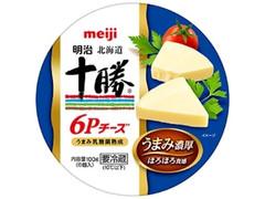 明治 北海道十勝 6Pチーズ 箱6個