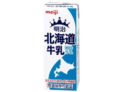 明治 北海道牛乳 パック200ml