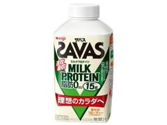 明治 ザバス MILK PROTEIN ミルクプロテイン 脂肪0 パック430ml