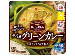 明治 DailyRich タイ風グリーンカレー 袋170g