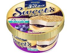 明治 エッセルスーパーカップSweet's ブルーベリーチーズケーキ カップ172ml