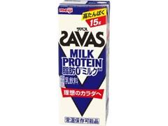 ザバス MILK PROTEIN 脂肪0 ミルク風味 パック200ml