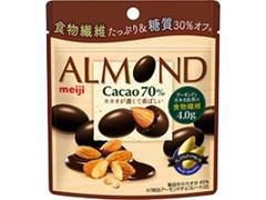 明治 アーモンドチョコレート カカオ70% 袋34g