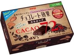 明治 チョコレート効果 カカオ72% カカオニブ 箱45g