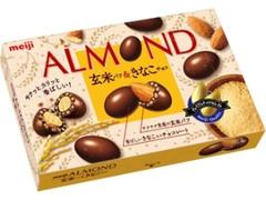 明治 アーモンド 玄米パフ&きなこチョコ 箱57g