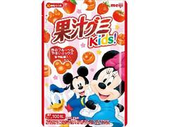 明治 果汁グミキッズ 赤のフルーツ&やさいミックス 袋41g