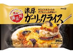 明治 満足丼 濃厚ガーリックライス 袋390g