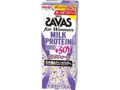ザバス for Woman MILK PROTEIN 脂肪0+SOY ミルクティー風味