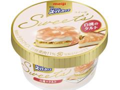 明治 エッセルスーパーカップ Sweet's 白桃のタルト