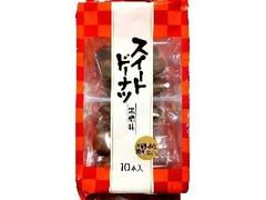 七尾製菓 スイートドーナツ 黒糖 袋10本