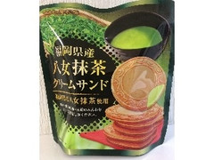 七尾製菓 福岡県産 八女抹茶クリームサンド 6枚