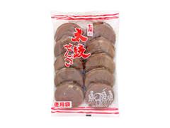 七尾製菓 太鼓せんべい 徳用 袋20枚