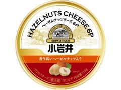 小岩井 へーゼルナッツチーズ6P 箱114g