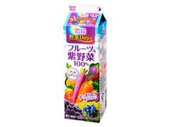 雪印メグミルク 農協野菜Days フルーツ&紫野菜 パック1L