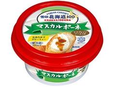 雪印メグミルク 北海道100 マスカルポーネ