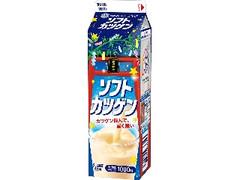 雪印メグミルク ソフトカツゲン 七夕限定パッケージ パック1000ml