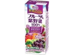 雪印メグミルク 農協 野菜Days フルーツ&紫野菜 100%