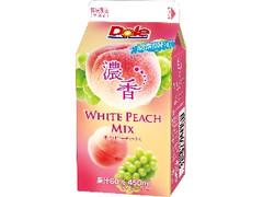 Dole 濃香 WHITE PEACH MIX パック450ml