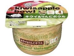 雪印メグミルク ヨーグルトデリ キウイ&りんごボウル カップ140g