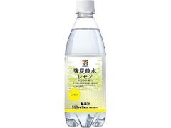 セブンプレミアム 強炭酸水レモン ペット500ml