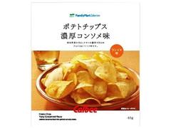 ファミリーマート FamilyMart collection ポテトチップス 濃厚コンソメ味