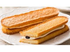 ファミリーマート 香ばしいクッキーのクリームサンド レーズン
