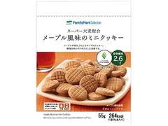 ファミリーマート FamilyMart collection スーパー大麦配合 メープル風味のミニクッキー