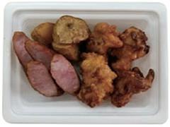 ファミリーマート 鶏唐揚げ&ウインナー