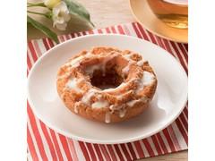 ファミリーマート FAMIMA CAFE&SWEETS まろやかミルク風味のいちごドーナツ