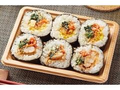 ファミリーマート 韓国風海苔巻 キンパ チーズタッカルビ巻&ナムル巻