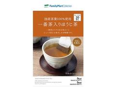 ファミリーマート FamilyMart collection 国産茶葉100%使用一番茶入りほうじ茶