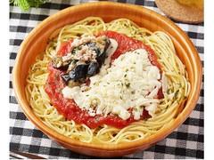 ファミリーマート 揚げ茄子とチーズのトマトパスタ