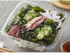 ファミリーマート 香り箱とオクラの海藻サラダ