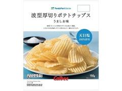 ファミリーマート FamilyMart collection 波型厚切りポテトチップスうましお味