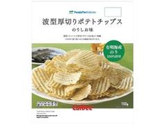ファミリーマート FamilyMart collection 波型厚切りポテトチップスのりしお味