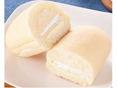 ファミリーマート ファミマ・ベーカリー 白いコッペパン バニラ大福味