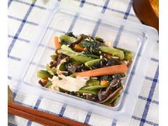 ファミリーマート 蒸し鶏と小松菜のナムルサラダ