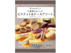 ファミリーマート FamilyMart collection 6種類のおいしさビスケット&ケーキアソート